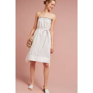 Tracy Reese Strapless White Mischa Dress